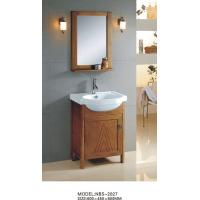 Quality Soft closing door Solid Wood Bathroom Cabinet witn sink 60 X 45 X 85 / cm wholesale