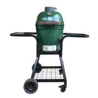 Quality Portable Ceramic Outdoor Grill Egg Shaped Kitchen Smoker Easily Cleaned wholesale