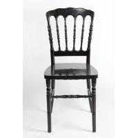 Quality Black Poly Carbonate / Acrylic Resin Napoleon Chair UV Resistant For Party wholesale