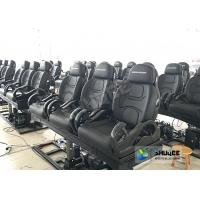 Quality 3DOF Fiberglass Black 5D Theater System Motion Chair Cabin For Park wholesale