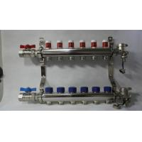 Quality Radiant Floor Manifold For Underfloor Heating 304 Stainless Steel wholesale