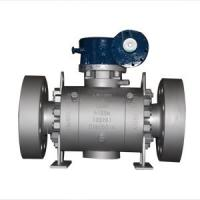 China A105N Trunnion Mounted Ball Valve 3IN CL2500 3 Piece Stainless Steel Ball Valve on sale