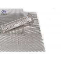 Quality Customized 304 Perforated Metal Sheet , Stainless Steel Sheet Metal wholesale