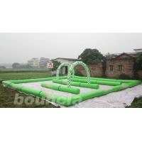Quality Inflatable Zorb Ball Track , Zorb Orbit With 0.6mm PVC Tarpaulin wholesale