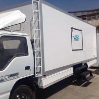 Quality Frozen Food Truck with Insulated PU Sandwich Panel wholesale