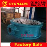 factory sales DN2000 butterfly valve from tianjin