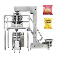 Buy cheap Multi Weighing Chips / Beans Packaging Machine 0.2-2kg Touch Screen Operate from wholesalers