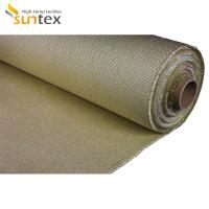 Buy cheap Custom Color High Temperature Fabric Cloth Ceramic Fiber Vermiculite Coated from wholesalers