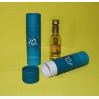 Quality Elegant Wine Packaging Box , Recycled Coated Paper Tube For Wine Packing wholesale