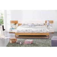 Cheap Modern bedroom furniture by MDF in glossy painting melamine board in bed for sale