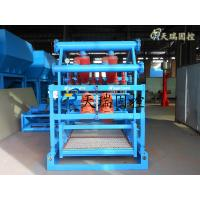China 60m³/h capacity,High Performance Mud Cleaner with Bottom Shale Shaker / Oil Drilling Mud Shaker on sale