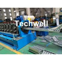 Quality 0-15m/min Cable Tray Roll Forming Machine For Making Steel Cable Tray Sheets wholesale