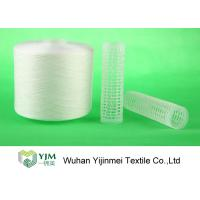 Quality Strong TFO White Dyed Polyester Spun Yarn For High Speed Sewing Machine wholesale