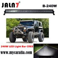 China LED Light Bar JALN7 42Inch 240W Spot Flood Combo LED Driving Lamp Super Bright Off Road Lights LED Work Light Boat Jeep on sale