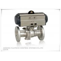 Quality Double Action Stainless Steel Motorized Ball Valve / Two Piece Ball Valve wholesale