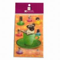 Quality 3D Lenticular Post Card, Fresh and Clear Colors wholesale