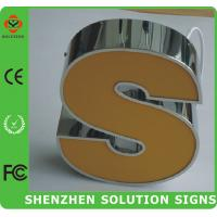Quality frong acrylic lighting  led outdoor sign wholesale