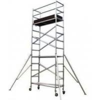 Buy cheap Silver Color Aluminum Mobile Scaffolding Tower For Construction / Decoration from wholesalers