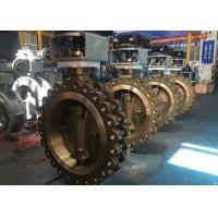 China API Aluminum BronzeFlanged Type Butterfly Valve C95800 Triple Offset Butterfly Valve on sale