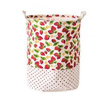 Cheap Printing Fabric Cloth Folding Laundry basket for sale