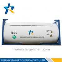 Quality R22 Refillable cylinder 1000L CHCLF2 R22 Refrigerant Replacement / chlorodifluoromethane wholesale