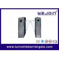 Buy cheap Full Automatic Smart Security Access Control Turnstile Flap Gate 0.5s Opening from wholesalers