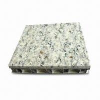 Quality Top Stone Honeycomb Panel with 20mm for Cladding and 6mm Thick Marble wholesale