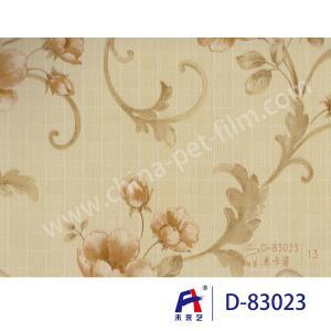 Quality PVC  Coating  Film    PVC Decorative Film  D-83023 M the carnot  0.12-0.14mm wholesale