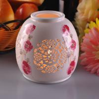 Quality Personalised Ceramic Candle Holder Handmade Heat Resistant ASTM Test wholesale