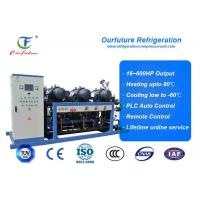 Quality R404a Hanbell parallel screw compressor racks for frozen food storage wholesale