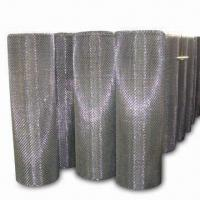 China Crimped Wire Mesh, Used for Coal, Mining and Construction Industries, Made of Al-Mg Alloy Wire on sale
