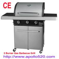 China Outdoor Kitchen Gas Grill 3Burners on sale