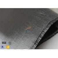 Quality Plain Weave Silver Plated Fabric 3K 240g Carbon Fiber Fabric For Surface Decoration wholesale