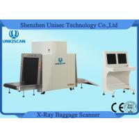 Quality Dual Energy Security X Ray Baggage Scanner Machine With 19'' LCD Screen Operate Desk wholesale