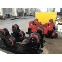 Buy cheap Yellow 20T Self Aligning Pipe Welding Rotator Low Noise Transmission from wholesalers