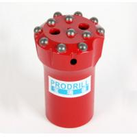 Quality Tungsten Carbide Rock Drilling Tools Threaded Button Bits With T38 T45 64mm Thread wholesale