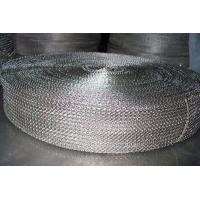 Quality Cable Shielding Security Stainless Steel Knitted Wire Mesh For Exhaust Systems wholesale