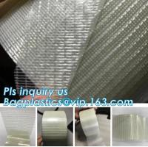 Quality Glass Mesh carpet tape,PET film glass fiber mesh tape,Fiberglass mesh tape for gypsum,160Mic Backing Fiberglass Double S wholesale