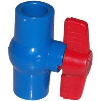 China Compact 1/2 ~ 4  True Union Plastic PVC Ball Valve Floating For Water Supply on sale