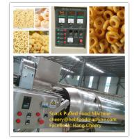 Quality factory supplier low cost automatic corn puffed snack food machine wholesale