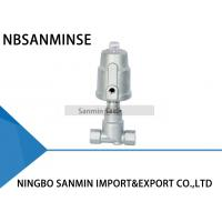 Quality JDF800 Pneumatic Angle Seat Valve Right Stainless Steel Angle Valve wholesale