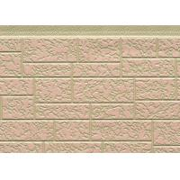 Cheap Customized Color Steel Polyurethane Foam Sandwich Panels For Exterior Wall for sale