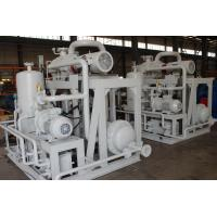Quality Chemicals Roots Liquid Ring Vacuum Pump System Energy Saving Long Service Life wholesale