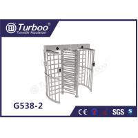 Quality Fingerprint Scanner Full Height Turnstile Gate G538-2 OEM Service Turnstile Motor wholesale