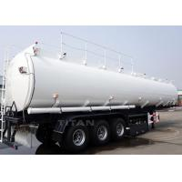 China 3  axle 47000 liters stainless steel water tank semi trailer for sale on sale