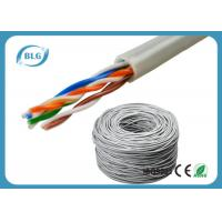 China Grey 1000ft Bulk Cat6 CCA Ethernet Network Cables 8 Number Wire Unshielded Twisted Pair on sale