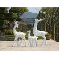 Quality Painted Surface Garden Animal Statues Stainless Steel Garden Ornaments wholesale