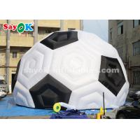 Quality 8m H Durable Oxford Inflatable Football Tent For Sports Exhibition Trade Show wholesale