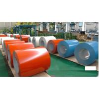 China PPGI Color Coated Steel Coil , RAL9002 Galvanized Steel Sheet In Coil on sale