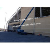 Quality Hoist Up Fabric Doors With Mullions Multiple Door Versions Withstands High Wind Loads wholesale